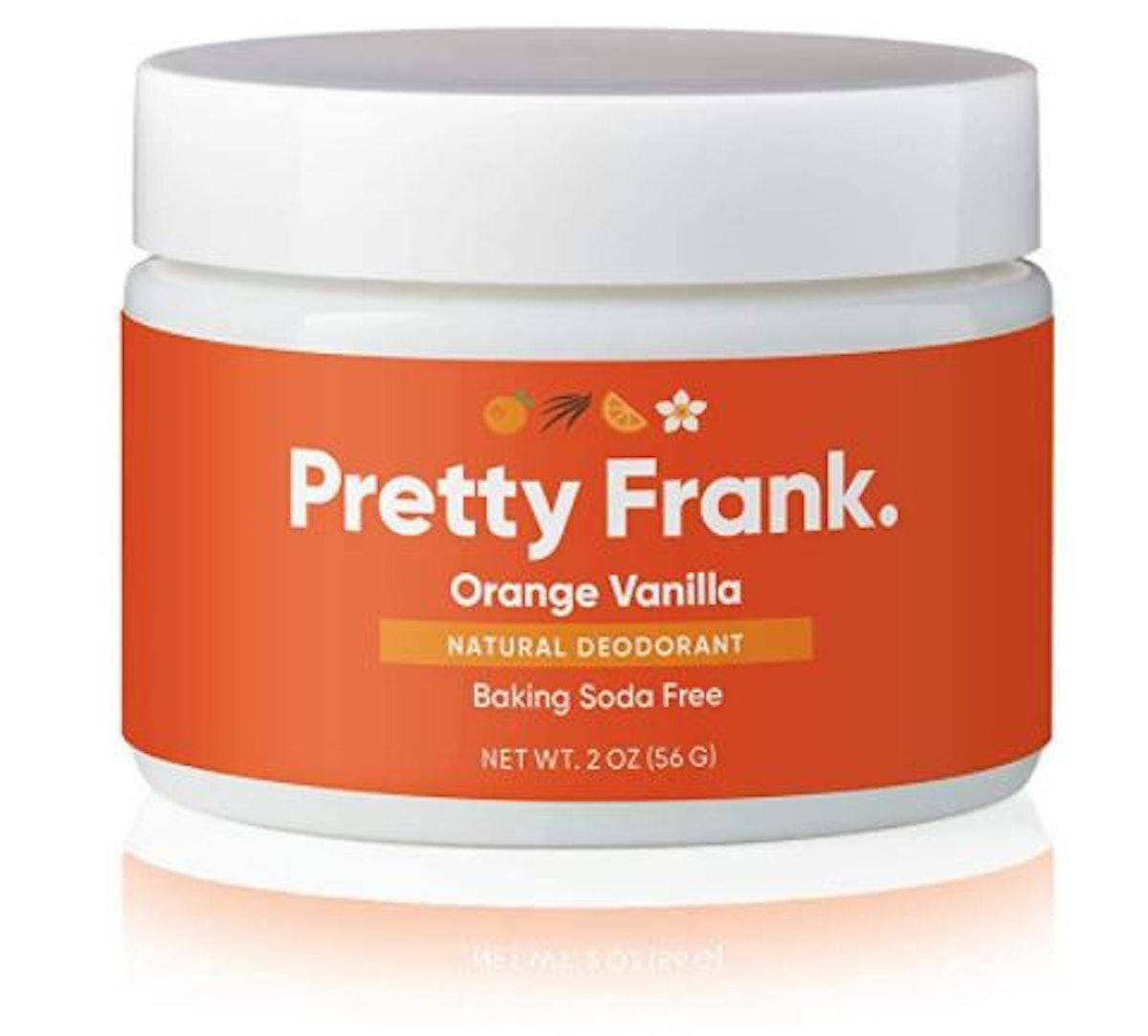 Pretty Frank Natural Deodorant Jar