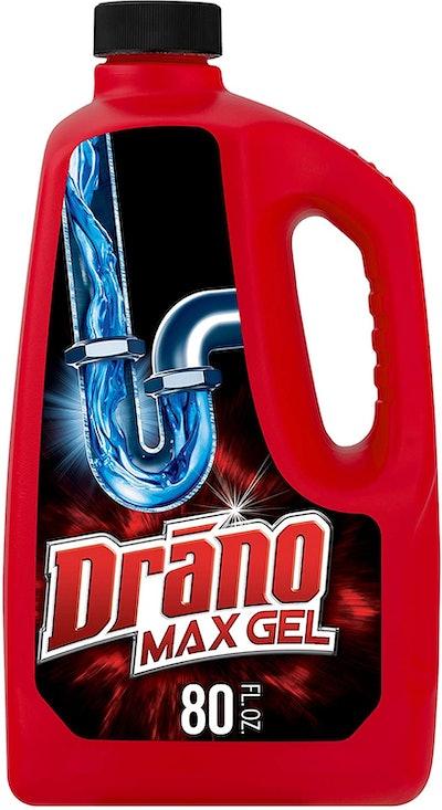 Drano Max Gel Drain Clog Remover, 80 Oz.