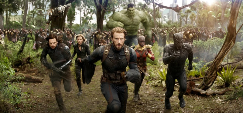 The Avengers run into a fight in 'Avengers: Endgame.'