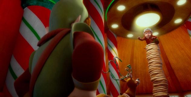 Saving Santa is a time travel Christmas movie.