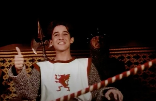 A Kid In King Arthur's Court is from 1995.