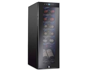 Ivation 12-Bottle Compressor Wine Cooler Refrigerator
