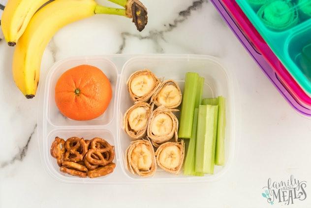 banana roll up lunch box