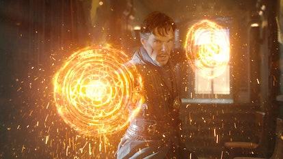Benedict Cumberbatch plays Doctor Strange in the Marvel Cinematic Universe films.