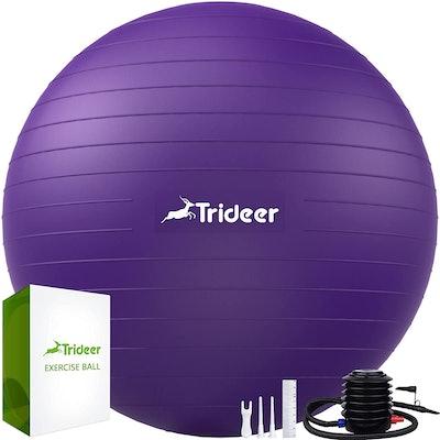 Trideer Extra Thick Yoga Ball