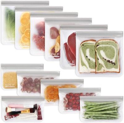 SPLF Reusable Storage Bags (12-Pack)