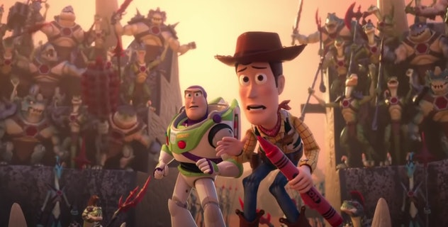 Toy Story that Time Forgot is a Toy Story short.