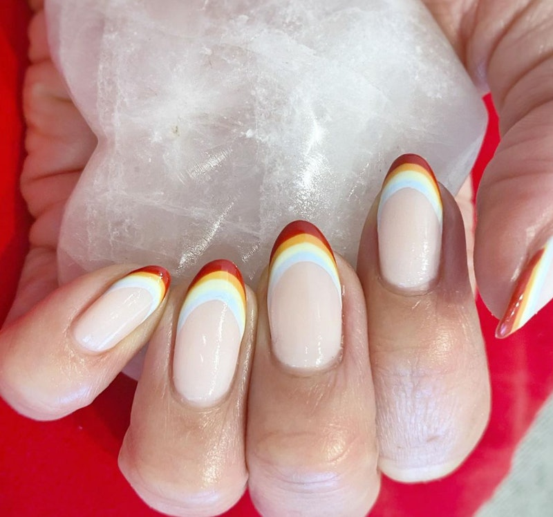 Silicone nail stampers are going viral on TikTok because they make French manicure tips so easy for ...