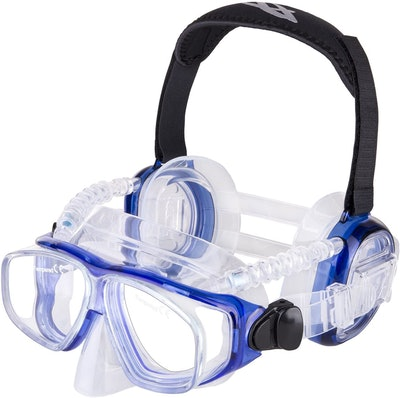 IST ProEar Dive Mask with Ear Covers