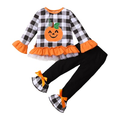 Flared Pumpkin Outfit