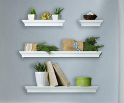 Melannco Floating Wall Shelves (Set Of 4)