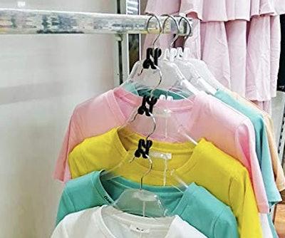 Kclongvs Clothes Hanger Connector Hooks (60-Pack)