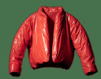Yeezy Gap Red Round Jacket