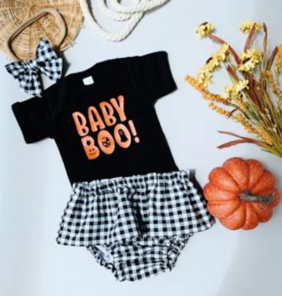 Baby Boo Onesie & Diaper Cover