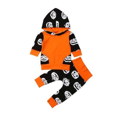 Pumpkin Hoodie Set