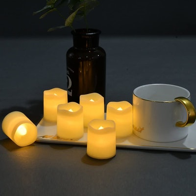 SHYMERY Flameless Votive Candles (24-Pack)