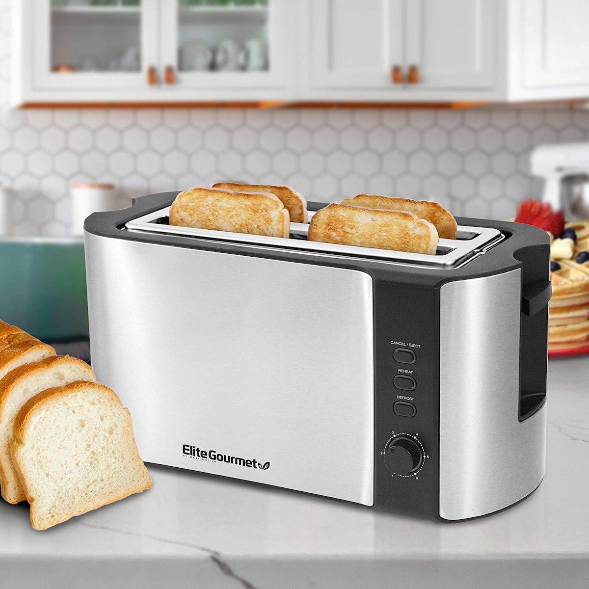 Elite Gourmet 4-Slice Toaster