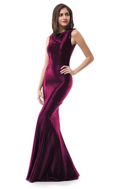MUXXN Mermaid Evening Dress