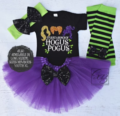 It's Just A Bunch Of Hocus Pocus Halloween Outfit