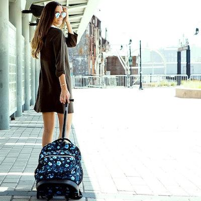 J World New York Sundance Rolling Backpack