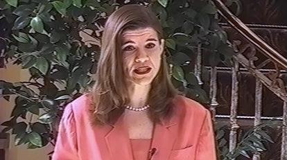 Yvette Cantu Schneider in 1994. Courtesy of Netflix.