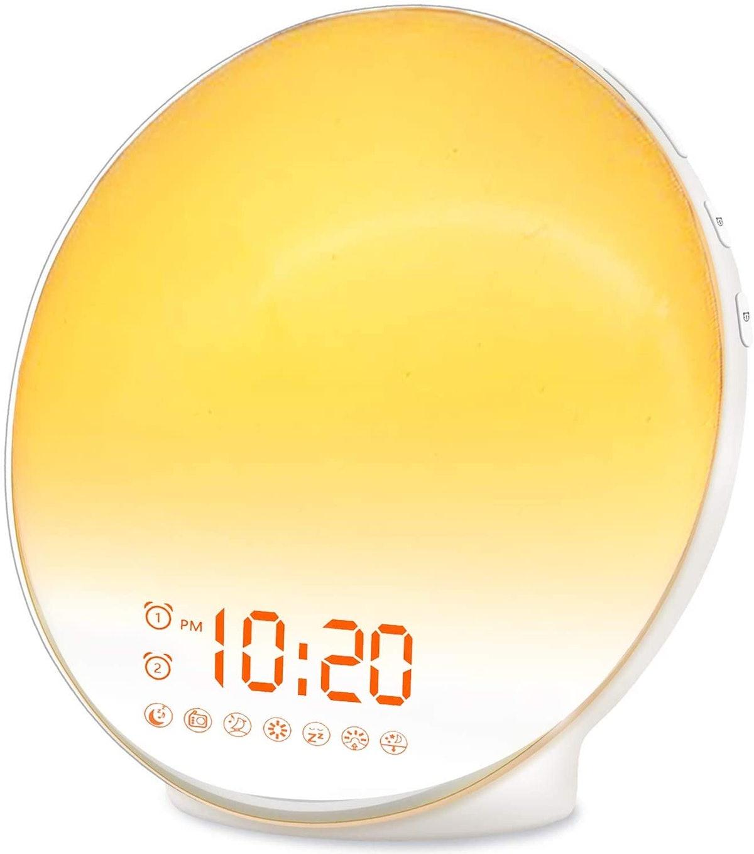 JALL Wake Up Sunrise Alarm Clock