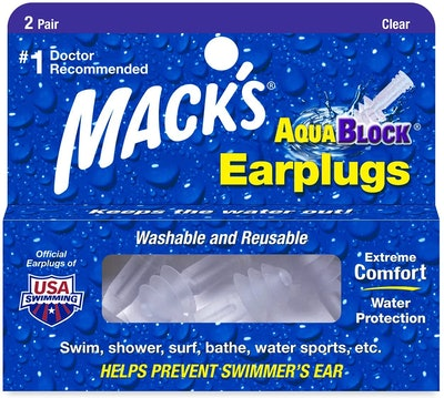 Mack's AquaBlock Earplugs (2 Pairs)