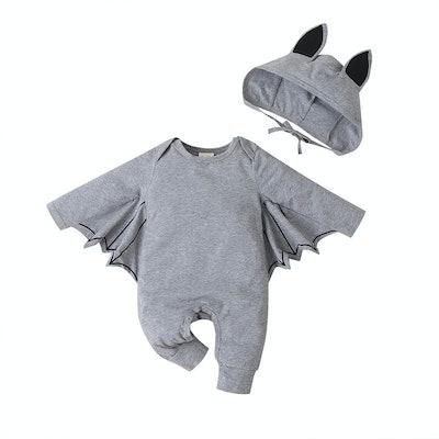 Toddler Hooded Bat Suit