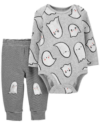 2-Piece Halloween Bodysuit Pant Set
