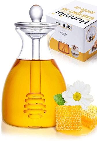 Hunnibi Handmade Honey Jar with Dipper