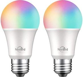 NITEBIRD Smart Light Bulbs (2-Pack)