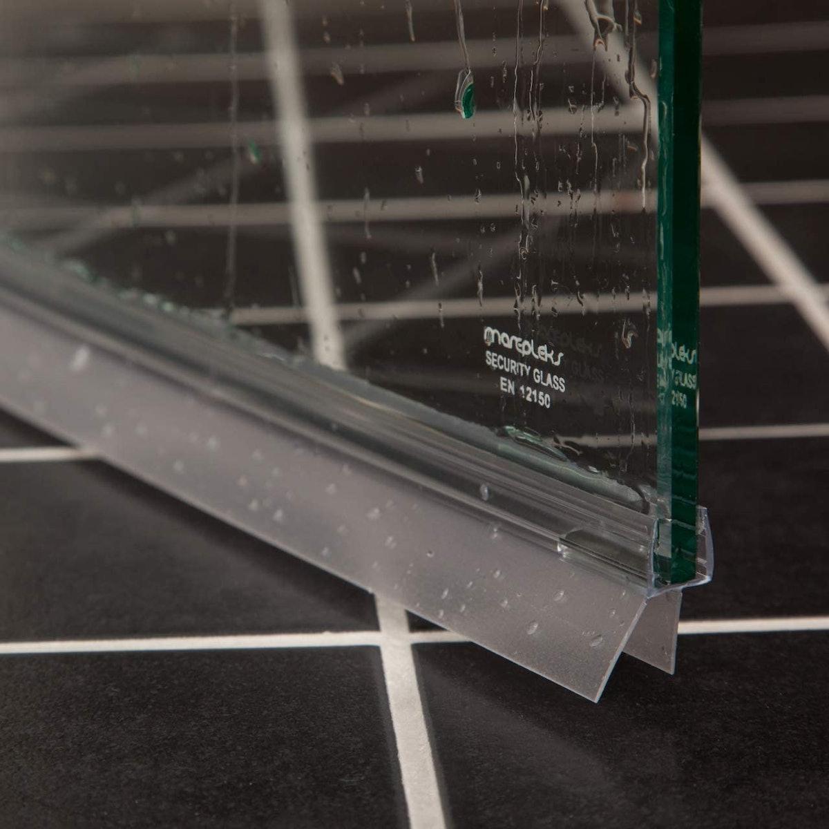 Aulett Home Glass Door Seal Strips (2-Pack)
