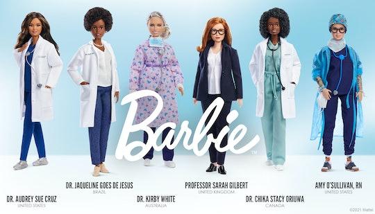 Mattel released a new line of frontline worker Barbie dolls.