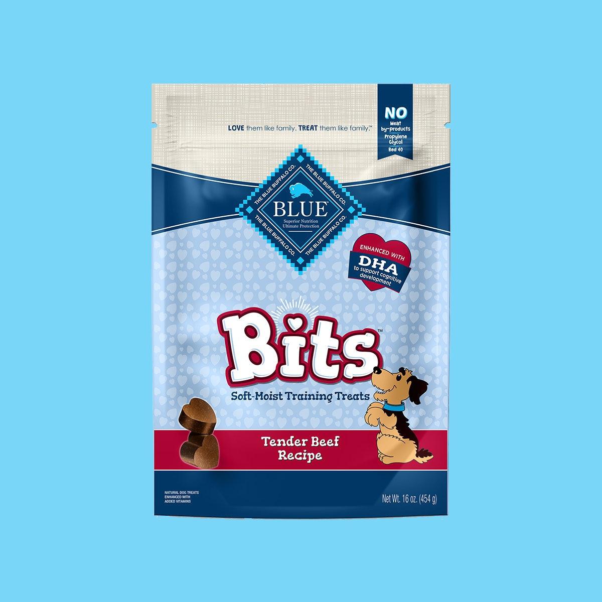 Blue Bits Tender Beef Soft-Moist Training Dog Treats, 16 oz.