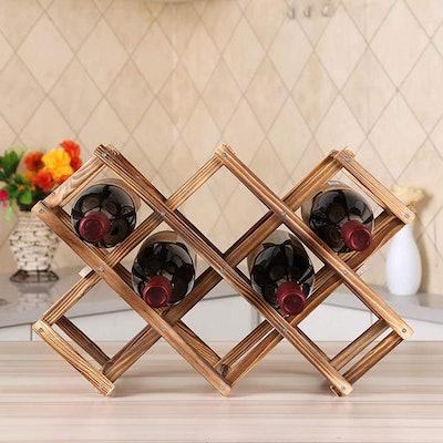 Ferfil Wood Wine Rack