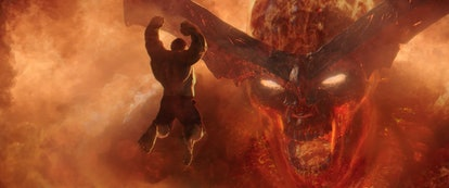 Surtur appears in 'Thor: Ragnarok.'