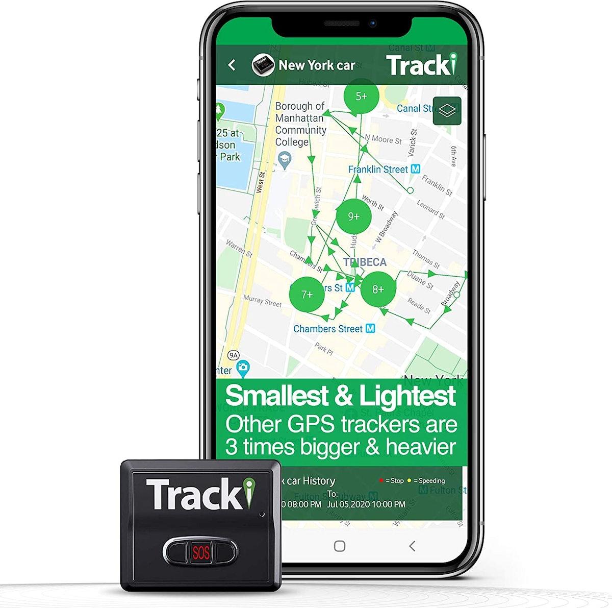 Tracki Mini GPS Tracker