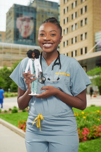 Dr. Chika Stacy Oriuwa  was honored with her own Barbie.