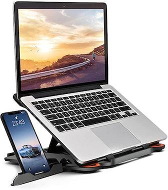 KENTEVIN Adjustable Laptop Multi-Angle Stand