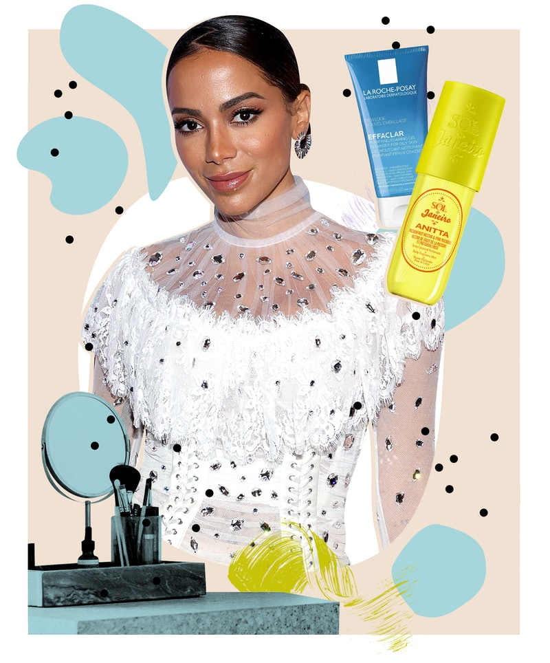 Anitta chats with Bustle about Brazilian beauty, her new fragrance collaboration with Sol de Janeiro...