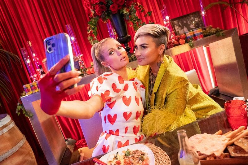 Demi Lovato joins her longtime friend Paris Hilton on Netflix's 'Cooking With Paris' for a guest app...