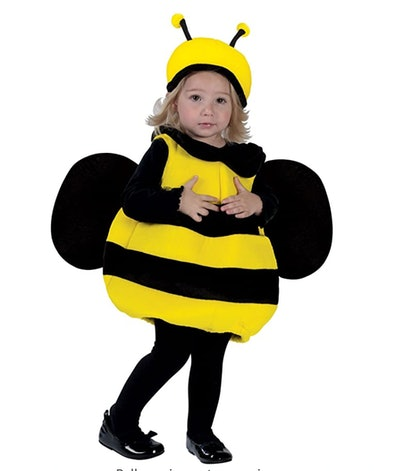 Bumble Bee Toddler Halloween Costume