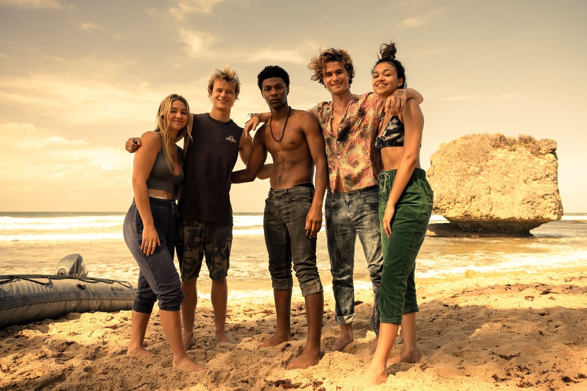 The cast of Netflix's 'Outer Banks', showing whether you're a Pogue or a Kook, per your zodiac sign.