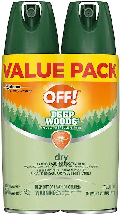 OFF! Deep Woods Mosquito Repellent (2-Pack)