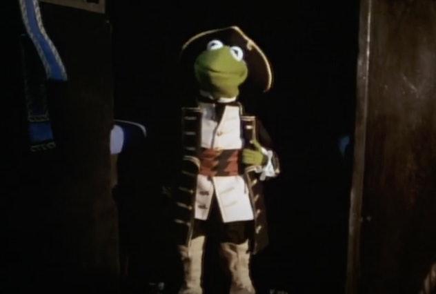 Kermit the Frog stars in 'Muppet Treasure Island.'