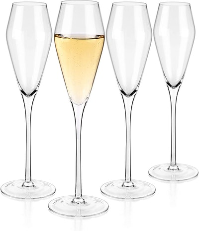 Luxbe Champagne Glasses (Set of 4)