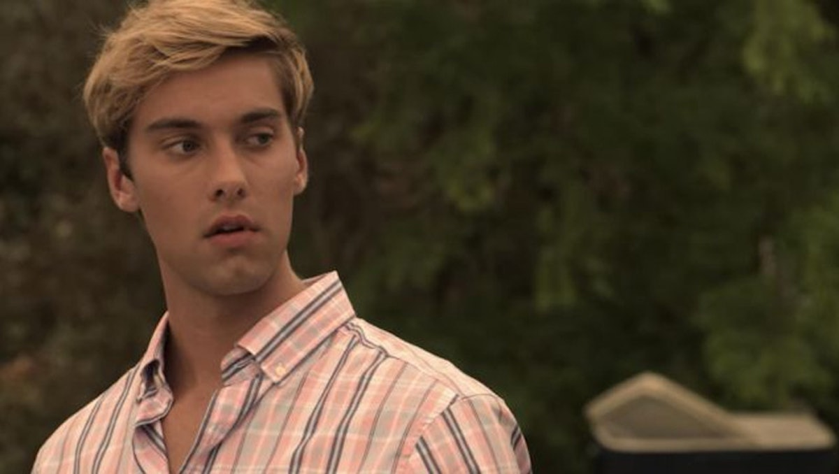 Topper Thornton from Netflix's 'Outer Banks' zodiac sign: Scorpio.