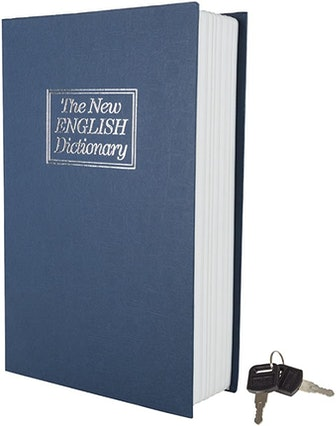Large The New English Dictionary Faux Book