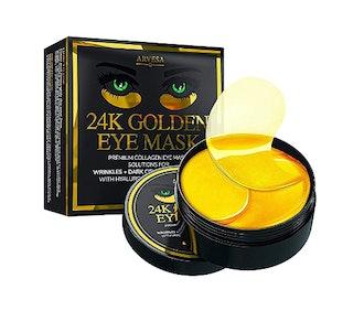 Arvesa 24K Gold Under Eye Collagen Patches (30 Pairs)