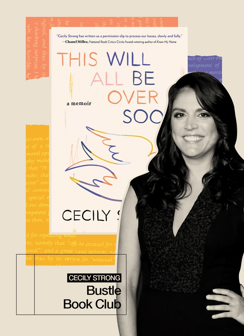 In her new memoir, SNL's Cecily Strong chronicles the daily pain and absurdity of grief.